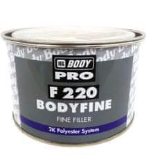 HB BODY Fine 220 1kg + tužidlo - biely dvojzložkový polyesterový veľmi jemný tmel