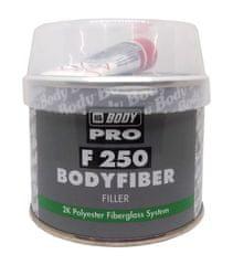 HB BODY Fiber 250 250g + tužidlo - dvojzložkový polyesterový tmel so skleným vláknom na veľké nerovnosti
