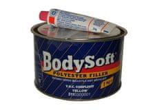 HB BODY Soft 211 2K Polyester Filler béžový 1kg + tužidlo - dvojzložkový plniaci tmel