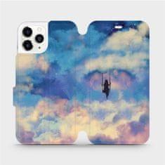 Mobiwear Flipové pouzdro na mobil Apple iPhone 11 Pro - MR09S Dívka na houpačce v oblacích