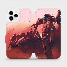 Mobiwear Flipové pouzdro na mobil Apple iPhone 11 Pro - MA09S Průzkumník s červeným vozítkem