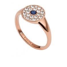 Fossil Luxusní bronzový prsten Vintage Glitz JF03587791