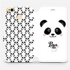 Mobiwear Flipové pouzdro na mobil Xiaomi Redmi 4X - M030P Panda Amálka