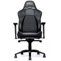 Bytezone Shadow gaming stol, črn
