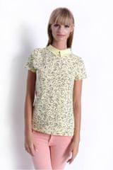 Oxyd Žlté dámske tričko so srdiečkami OX2470 - uni