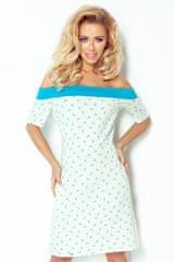 Numoco Plážové letné šaty s kotvami 100/1 - XS