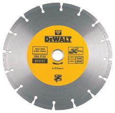 DeWalt DT3731 dia kotouč 230x22,2mm ze slinutých karbidů na suché řezání betonu a cihel