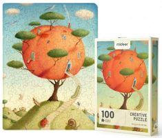 Mideer kreatívne puzzle - Broskyňový raj