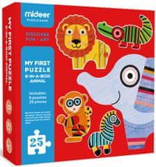 Mideer Moje prvé puzzle - Zvieratá