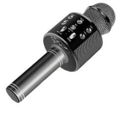 MG Bluetooth Karaoke mikrofon hangszóróval, fekete