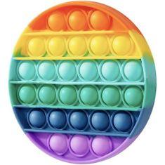MG Bubble Pop It protistresna igrača, krog, multicolor