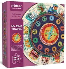 Mideer Mé první puzzle - Cestování časem