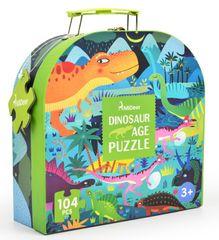 Mideer puzzle - V době dinosaurů, dárkové balení