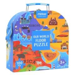 Mideer puzzle - Svět okolo, dárkové balení