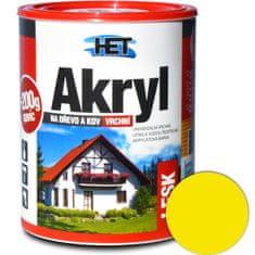 HET  Akryl lesk 0625 0,7kg+0,2kg žltá