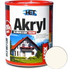 HET  Akryl lesk 0603 0,7kg+0,2kg slonová kosť