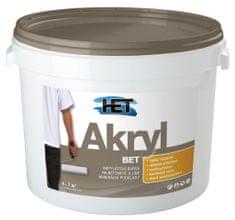 HET  Akryl BET 0110 šedá 5kg