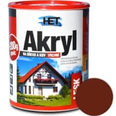 HET  Akryl lesk 0225 0,7kg+0,2kg hnedá svetlá