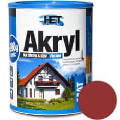 HET Akryl mat 0845 0,7kg červenohnedá