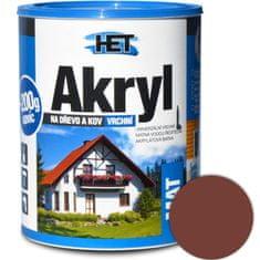 HET  Akryl mat 0235 0,7kg hnedá