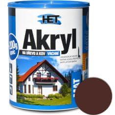 HET  Akryl mat 0240 0,7kg hnedá tmavá