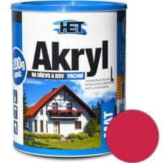 HET  Akryl mat 0820 0,7kg červená