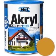 HET  Akryl mat 0670 0,7kg oker