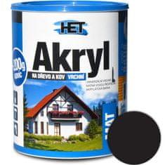HET  Akryl mat 0199 0,7kg čierna