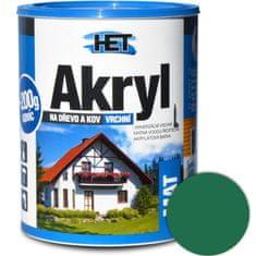 HET  Akryl mat 0530 0,7kg zelená