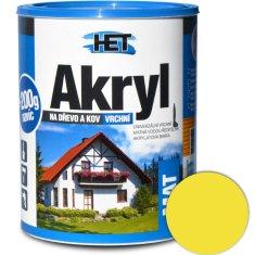 HET  Akryl mat 0620 0,7kg žltá