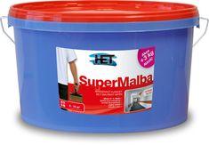 HET  Supermalba L&Š 5kg+1kg zdarma - interiérová biela farba