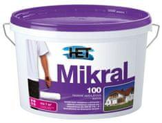 HET  Mikral 100 15+3kg - hladká fasádna akrylátová farba