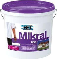 HET  Mikral 100 1kg - hladká fasádna akrylátová farba