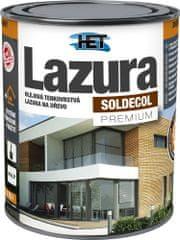 HET  Soldecol lazúra Premium 0,75l transparentná - tenkovrstvá lazúra na drevo