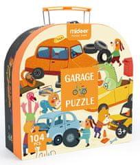 Mideer puzzle - Moje garáž, dárkové balení