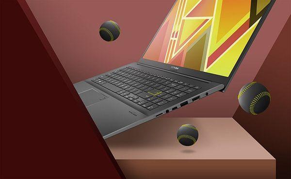 Notebook ASUS VivoBook 14 (K413EA-EB508T) 14 palců klávesnice touchpad
