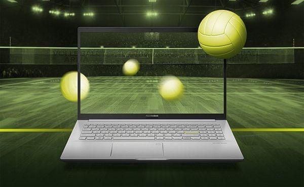 Notebook ASUS VivoBook 14 (K413EA-EB508T) 14 palců IPS Full HD Intel Core i5 8 GB RAM 512 GB SSD Intel Iris Xe Graphics