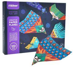 Mideer Origami papierové lietadlá