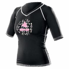 SUB GEAR Lycrové triko VINTAGE - VÝPREDAJ ružová/čierna XS - 36