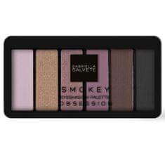 Gabriella Salvete Paletka očních stínů Smokey Obsession (Eyeshadow Palette) 12,5 g