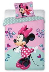 Faro Detské obliečky Minnie Hearts Flower