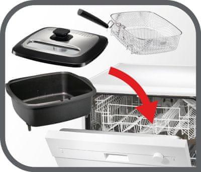 Tefal Versalio De Luxe 7v1 FR491870 Mytí v myčce nádobí