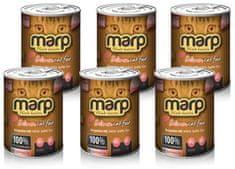 Marp Pure Salmon Cat 6 x 370g