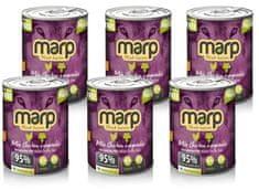 Marp Mix konzerva kura + zelenina 6 x 400 g