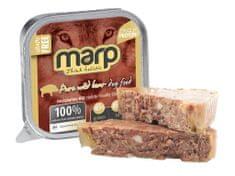 Marp Wild Boar vanička pre psov s diviakom 16x100 g (15 + 1 ZADARMO)