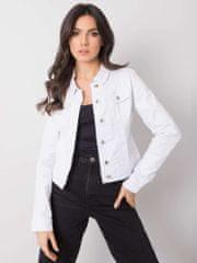 Factory Biela džínsová bunda Ferrara - L