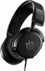 SteelSeries słuchawki przewodowe Arctis Prime, czarne (61487)
