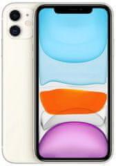 Apple Refurbished iPhone 11, 128GB, White