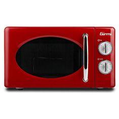 Girmi FM2102 Mikrow. piekarnik z grillem, czerwony, FM2102 Mikrow. piekarnik z grillem, czerwony