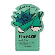 Tony Moly Moisturizing Mask Sheet I`m Aloe (Moisturizing Mask Sheet) 21 ml
